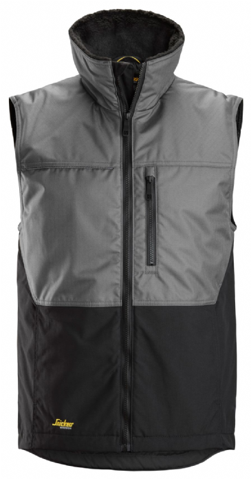 Snickers 4548 AllroundWork Winter Vest (Grey/Black)